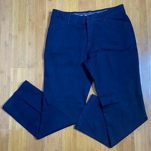 Lee total freedom dress pants navy 12P